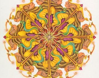 Ratna Mandala Flower