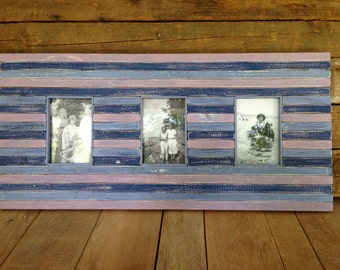 Three Picture Frame, Reclaimed and distressed