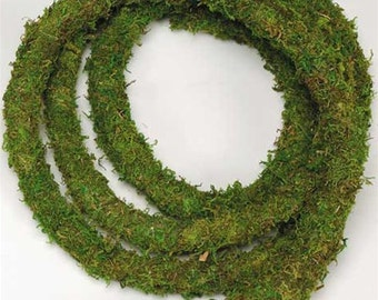Preserved Moss Garland,  Hanging Preserved Moss Garland, Moss Rope Garland, Moss Garland Simply Beautiful