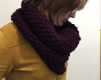 Woolly Oversize Cowl   || Warmest, Many Colors ||