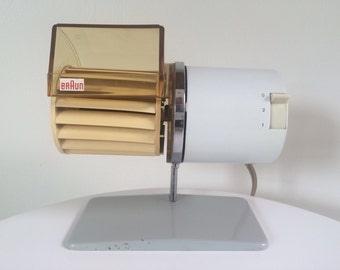 HL1C Braun Table Fan Designed by Reinhold Weiss