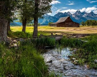 T.A. Moulton Barn Mormon Row, Grand Teton National Park, Wyoming