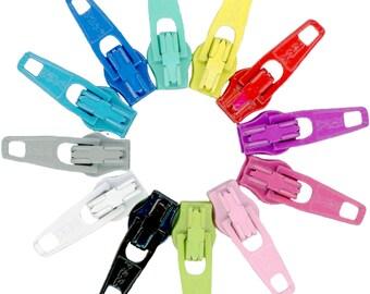 Zipper Pulls Candy Color Mix 30+,  Atkinson Designs