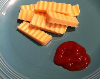 Crinkle Cut French Fry Glycerin Soap