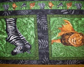 "Safari Animals Print #44 100% Cotton Quilting Fabric Fabri-Quilt Designer Print 45"" Wide By The Half Yard"