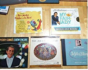 Vintage/Soundtrack Record Collection!