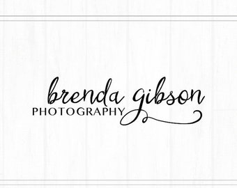 On SALE Premade Photography Text Watermark + Logo