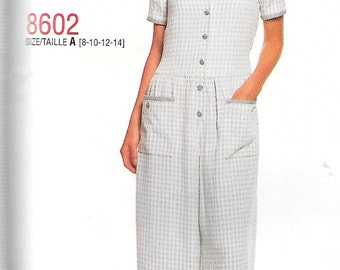 McCall's Stitch 'n Save Pattern 8602 JUMPSUIT  Misses Sizes 16 18 20 22
