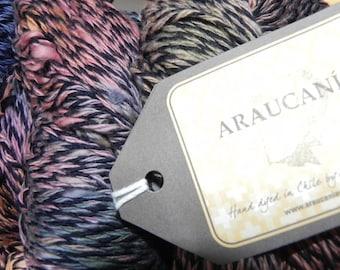Araucania 100% Cotton Yarn 230Yds 100gr Elqui Multy Color 1105, Pink, Green, Yellow & Black