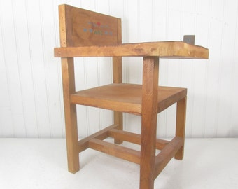 Doll furniture, Doll School Desk, large doll furniture, collectible, chair, Wood Doll Furniture