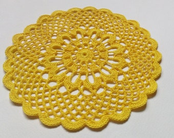 hand crochet doily