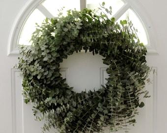 Eucalyptus Wreath- 16 inch