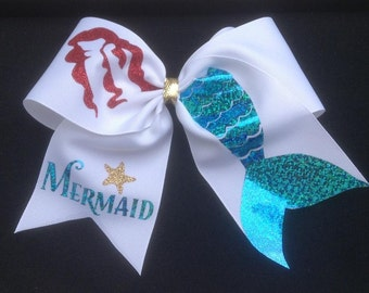 Mermaid Bow to be worn in the hair