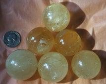 Honey/Golden Calcite Spheres
