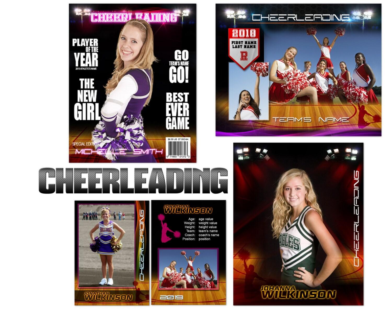 Cheerleading Premier Templates