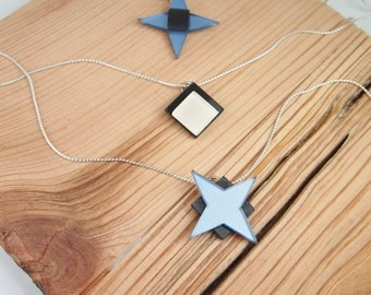 Plexiglass necklace