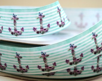 "1"" Anchor Printed Grosgrain Ribbon"