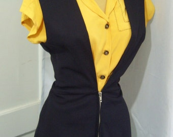 1940s style jumper skirt