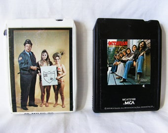Two 8-Track Cartridge - Vintage - Music Format - Eight Track Tape - X Rated - Gene Tracy - Octavian
