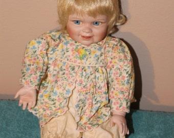 "13"" Porcelain Baby Doll"