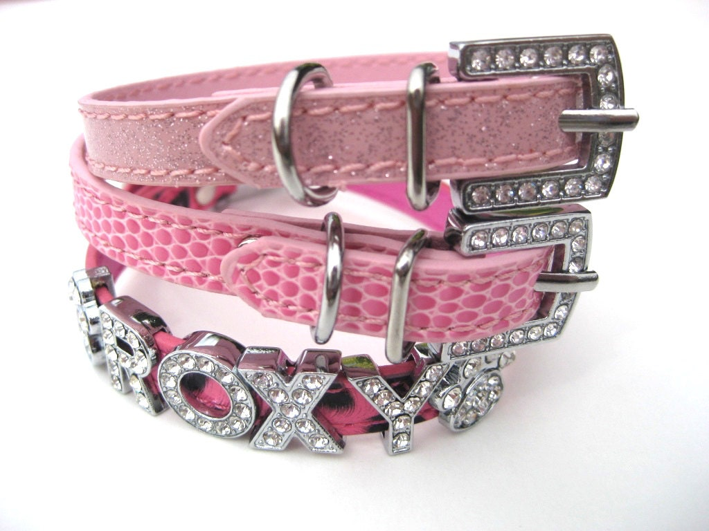 chihuahua collars xxs dog collar the pinks chihuahua collar personalized 9129