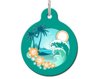 Ride The Waves Pet ID Tag | FREE Personalization