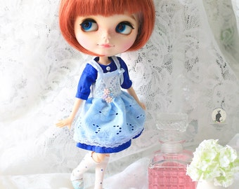 3pcs set .Doll clothes for Neo Blythe , Pullip ,Licca.