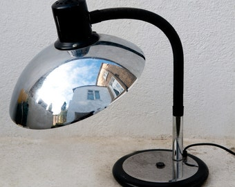Chrome French vintage desk lamp