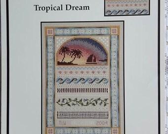 Tropical Dream Cross Stitch Pattern by TW Designworks Fantasy #5