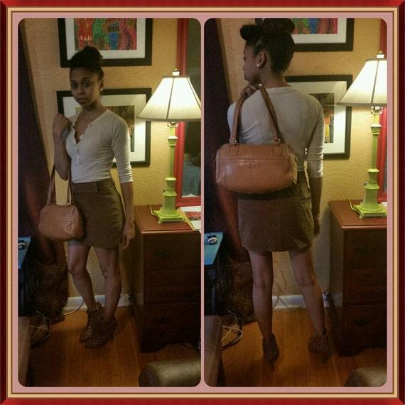 stone mountain tan purse