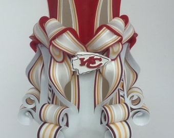 Kansas City Chiefs Inspired Pillar