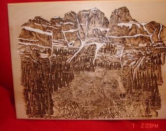Castle Mountain at Banff National Park