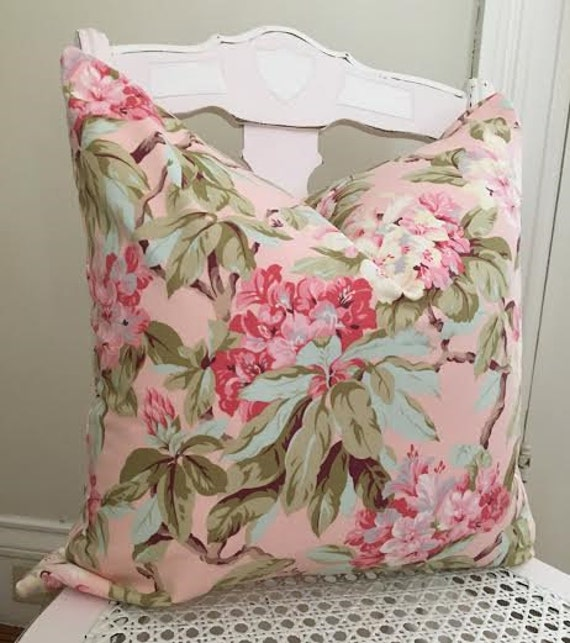 Cottage Chic Pillow Cover Shabby Chic Robyn Pandolph Pillow