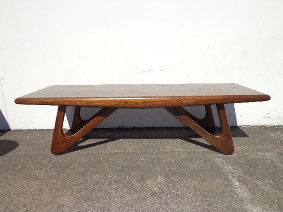 Adrian Pearsall Coffee Table Mid Century Modern Danish Eames Style
