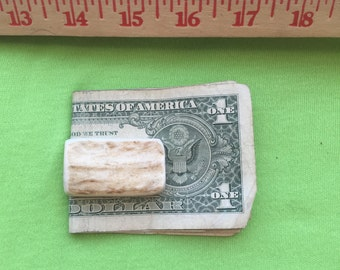 Elk Antler Money Clip