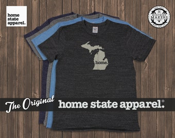 Michigan Home. tshirt- Men's/Unisex
