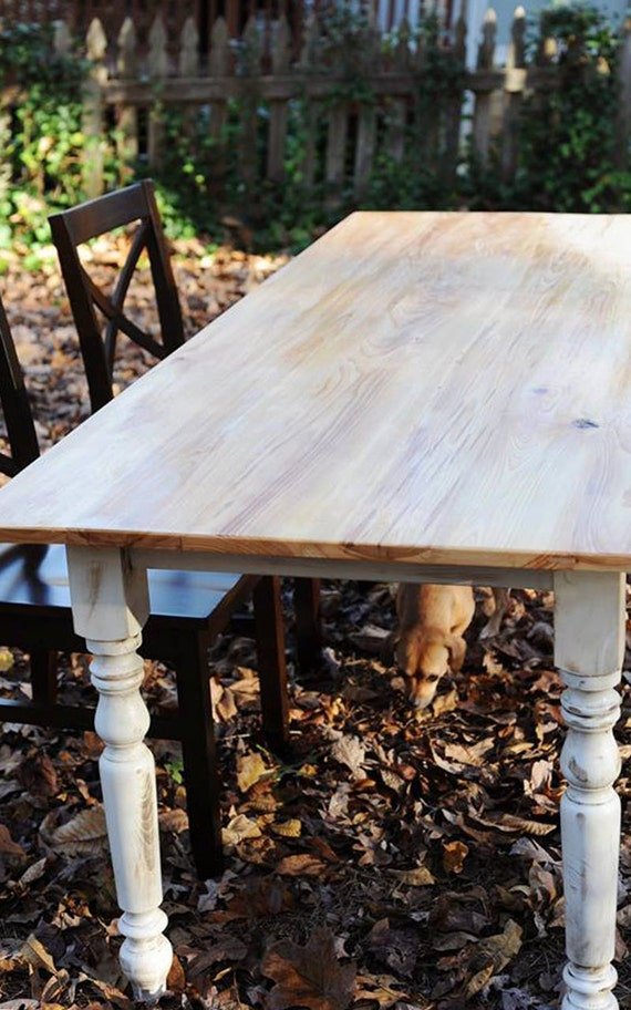 rustic cypress farmhouse dining table. Black Bedroom Furniture Sets. Home Design Ideas