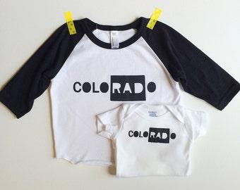 Colorado Baby - I put the RAD in Colorado - a design by Lula Ball