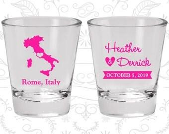 Italy Shot Glass, Italy Shot Glasses, Italy Glass, Italy Glasses, Italy Glassware (181)