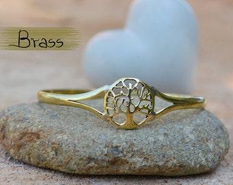 The Tree Of Life Bracelet, Cuff Bracelets, Handmade Bracelets, Brass Bracelets, Pewter Bracelets, Adjustable Bracelets