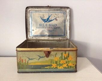Vintage Blue Bird Toffee & Chocolates Harry Vincent Ltd