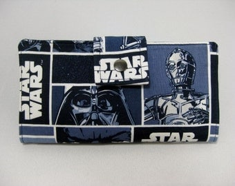 Star Wars Wallet, Womens Wallet, Bifold Clutch