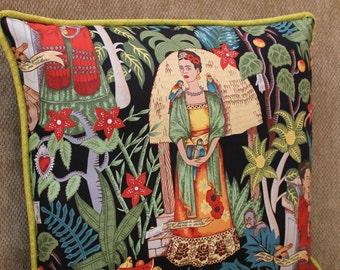 """20"""" x 20"""" Pillow Cover - Frida's Garden"""