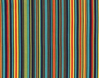 Michael Miller Fabrics - Play Stripe Navy - CX3137-NAVY-D