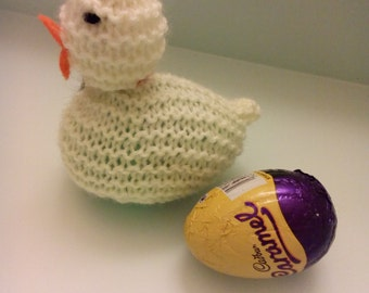 Easter Chick knitted