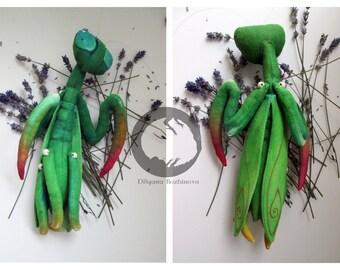 Praying mantis  doll