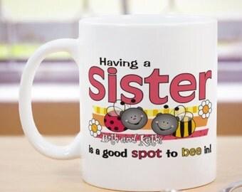 Personalized Sister Mug