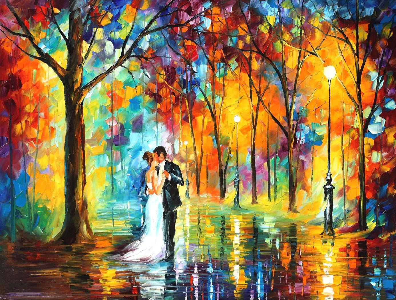 Wedding Gift Canvas Painting : Wedding Anniversary Gift For Couple Custom Wedding Gift