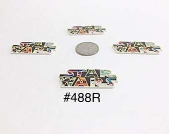 2/3/5 pc Star Wars Planar Resin Flat back Cabochon Hair Bow Center