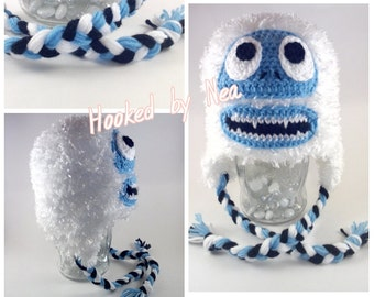 Bumble Hat, Abominable Snowman, Yeti Hat